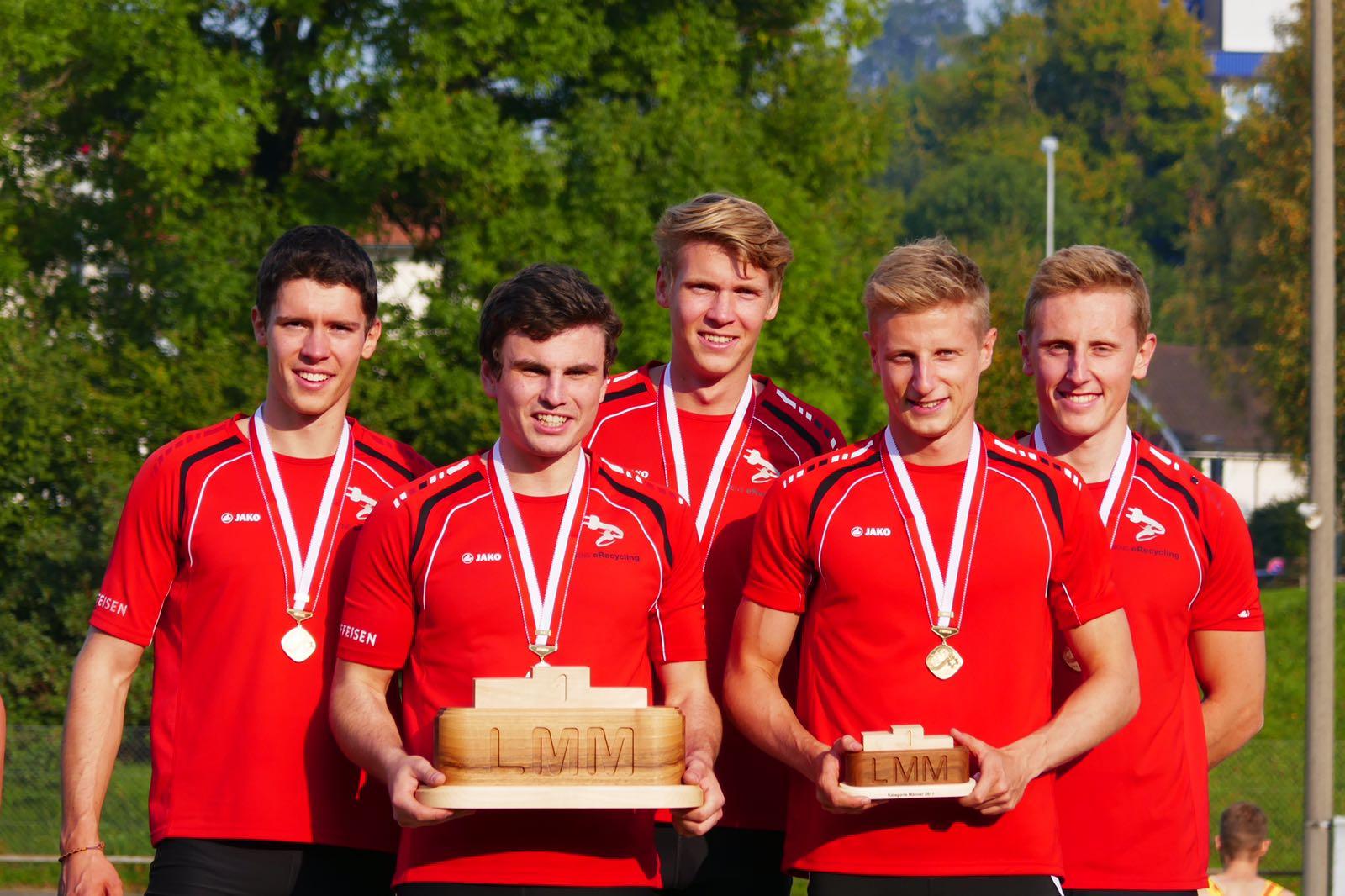 Erster Schweizermeistertitel bei den Männern