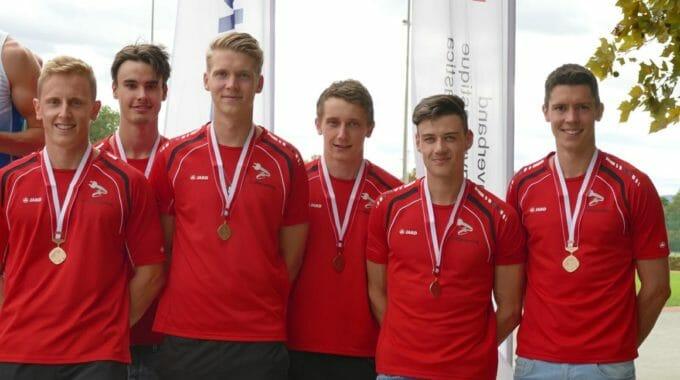 LMM-Final 2018 Aktive (3. Rang): Simon Castelberg, Joel Schrepfer, Tim Bezemer, Tobias Castelberg, Martin Moser, Ralf Kurath