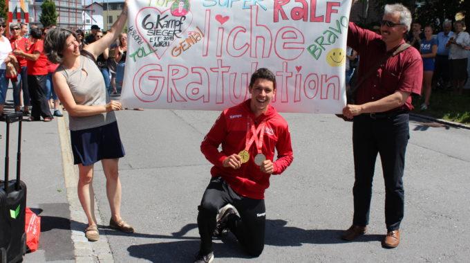 Herausragend: Der Leichtathletik-Riegenleiter Ralf Kurath Gewann Gold Im Sechskampf Und Mit Seinen Kumpels Silber Im LMM.