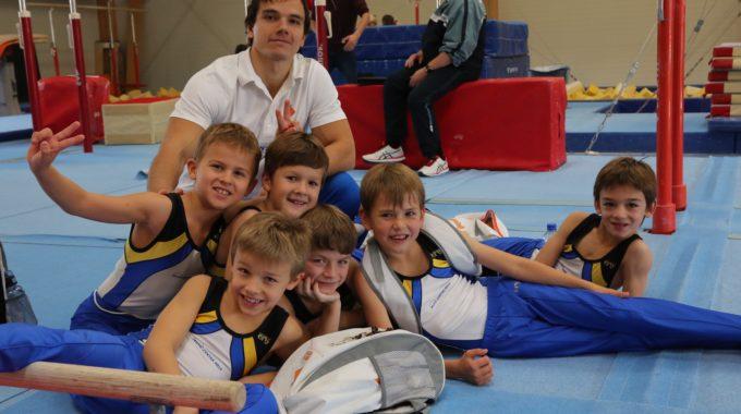 Team P1 Mit Neuem Trainer Roman Mamadzhanov (Russland)
